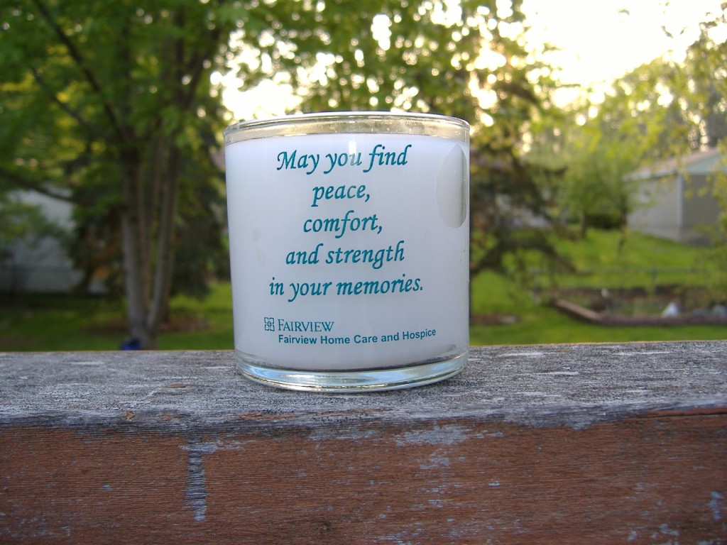 hospice candle