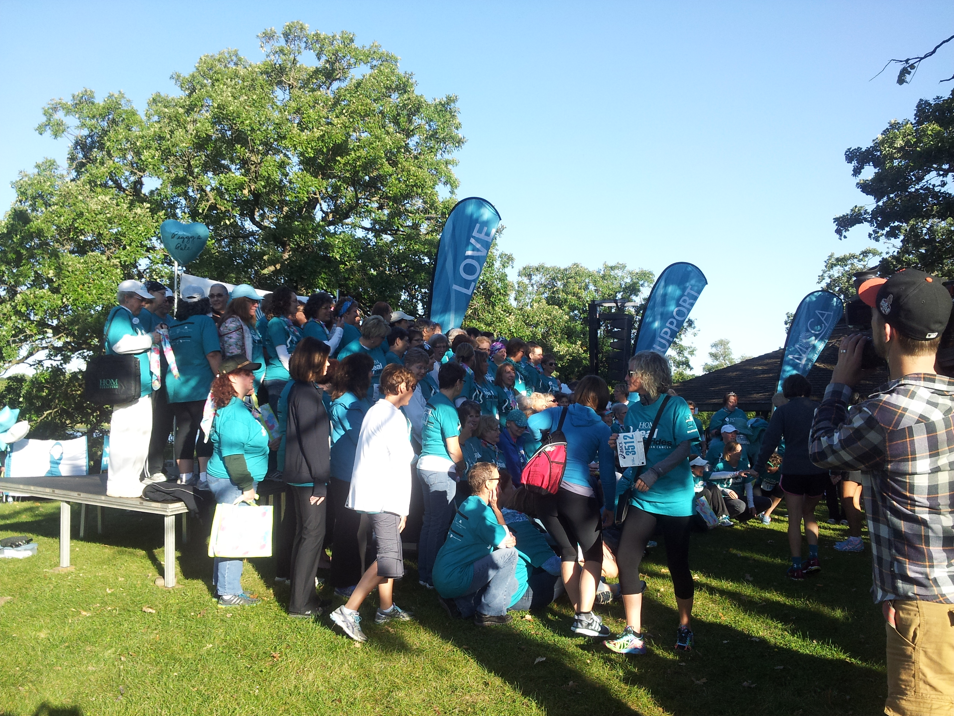 2014 Teal Strides Survivor's photo